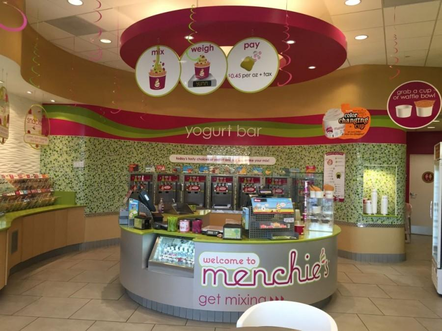 New Starbucks and Menchies in Town