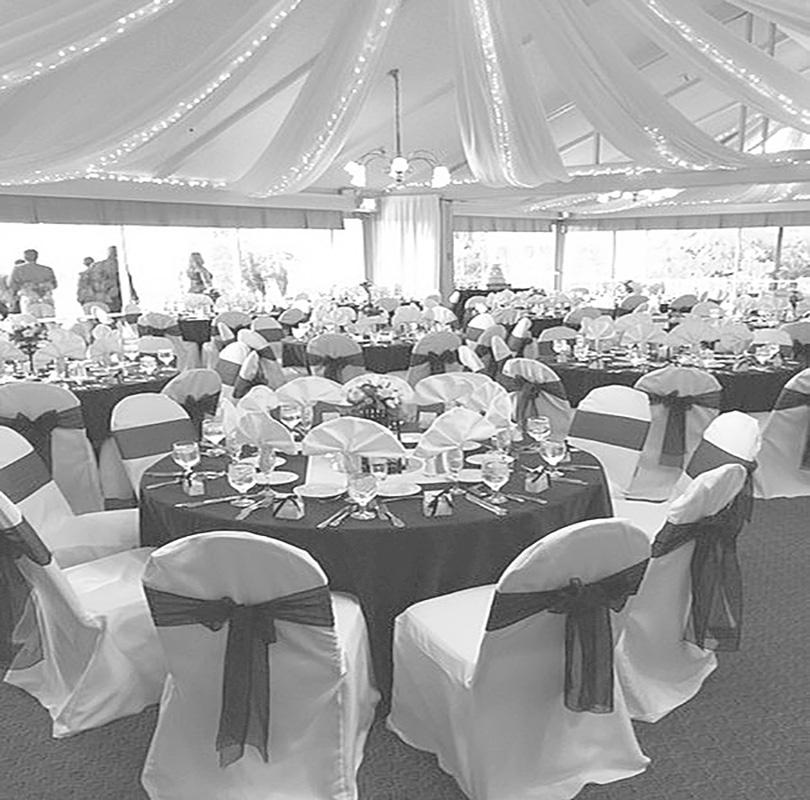 A look into the Diamond Bar Country Club banquet hall.