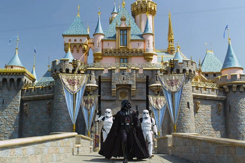 The Force is Strong at Disneyland