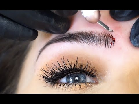 Microblading Marks the Cutting Edge of Fashion